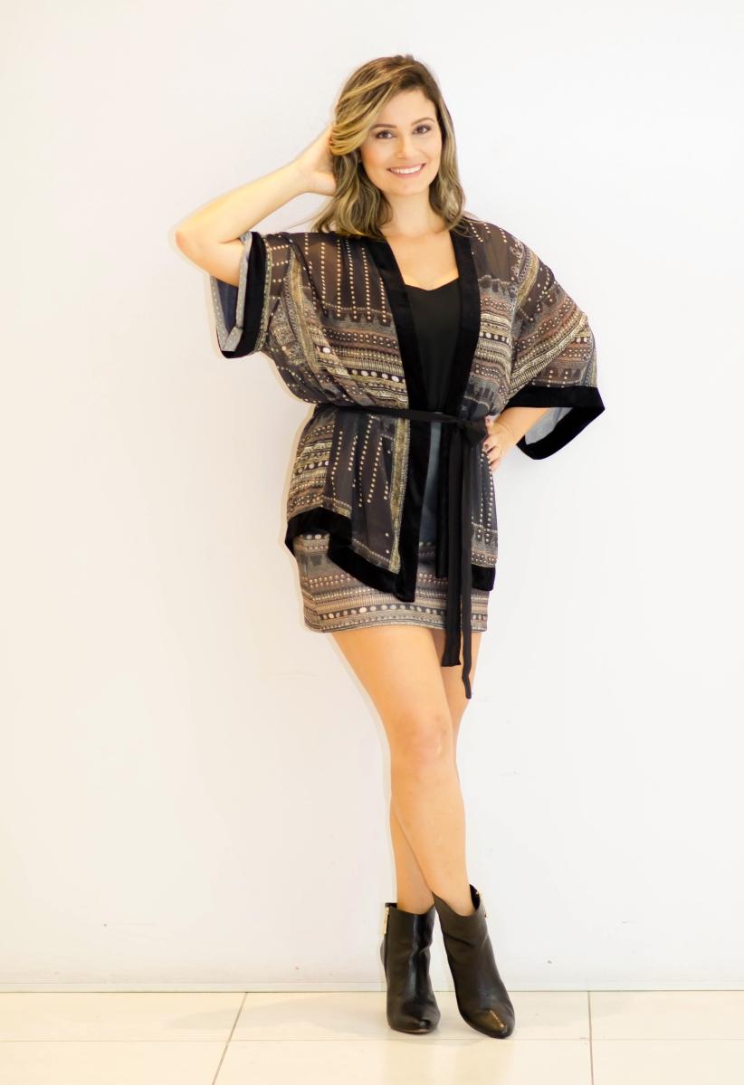 Look do dia: Kimono