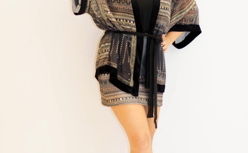 Look do dia:Kimono