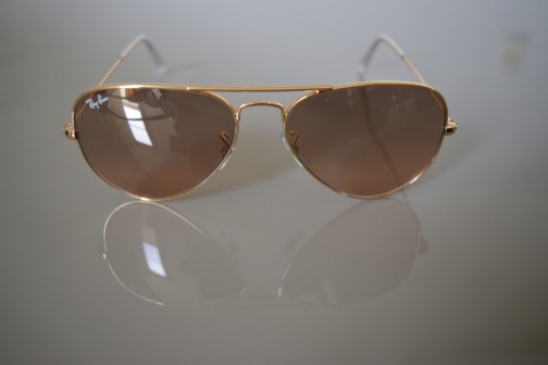 RB3025 AVIATOR LARGE METAL 0001/3E 55-14 2N